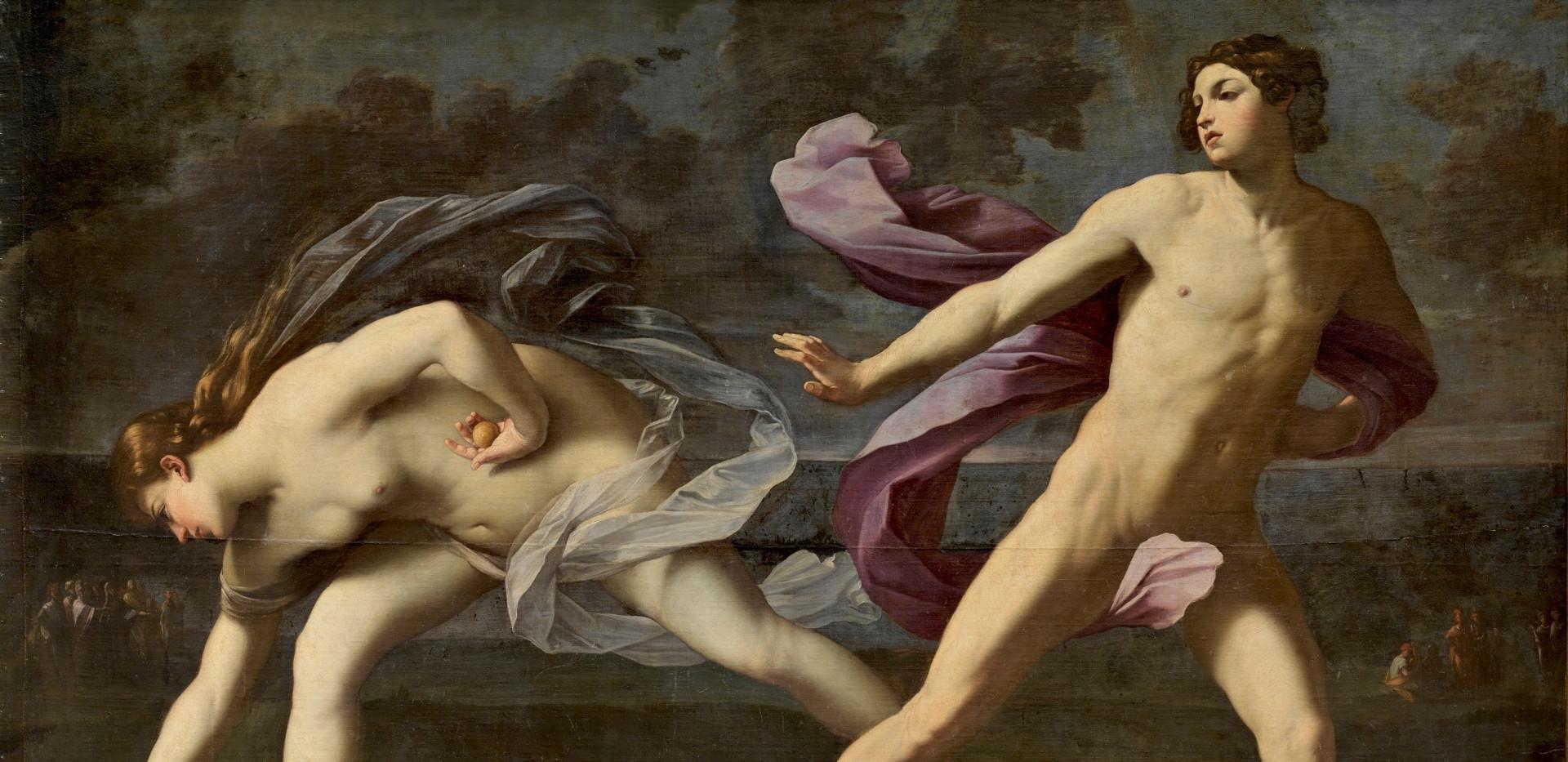 Atalanta e Hipomenes de Guido Reni, Museo del Prado