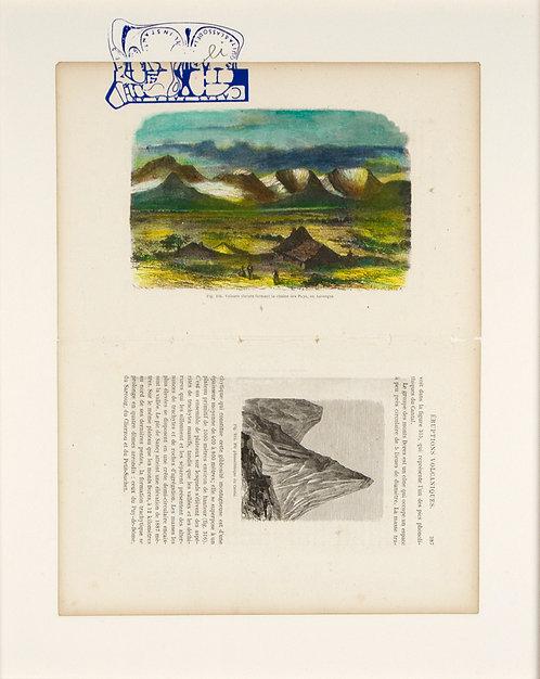 Fig.326 Volcans eteins format la Chaine des Puys, en Auvergne