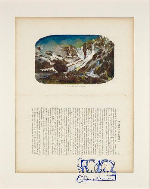Fig.307 Glacier actuel de la Suisse