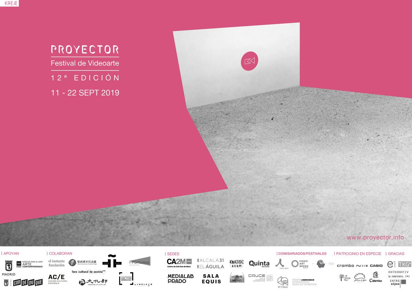 PROYECTOR Festival de Videoarte 2019 en El Instante