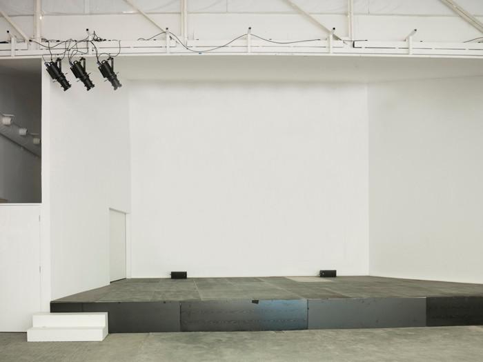 Vista escenario con proyección en Nave