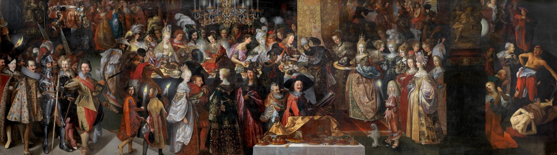 Bartholomeus Strobel El Joven, Degollación de San Juan Bautista y banquete de Herodes, Museo del Prado