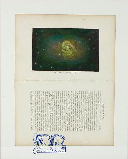 Fig.21 La terre a l'etat gazeux circulant l'espace