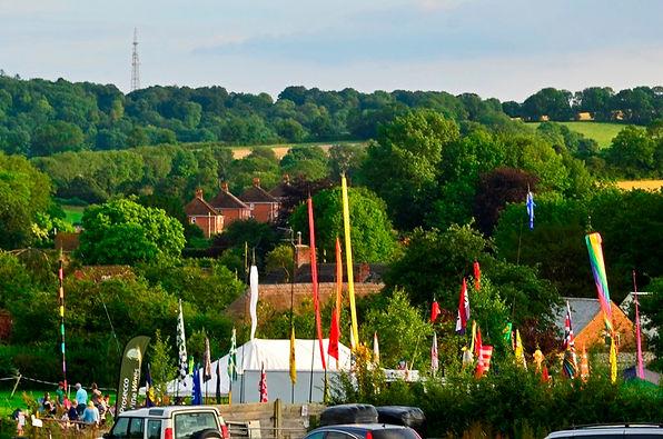 Flags at farm Fest.jpg