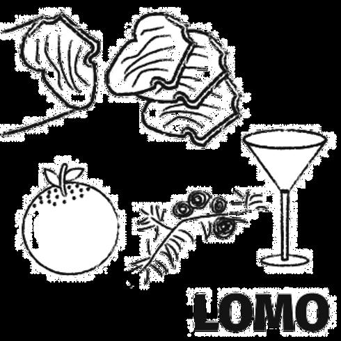 Orange, Juniper & Gin Lomo (75g)