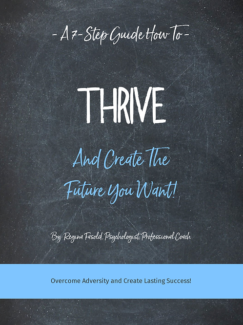 "e-Book ""Thrive"""