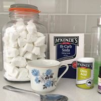 Making your own dishwashing tablets