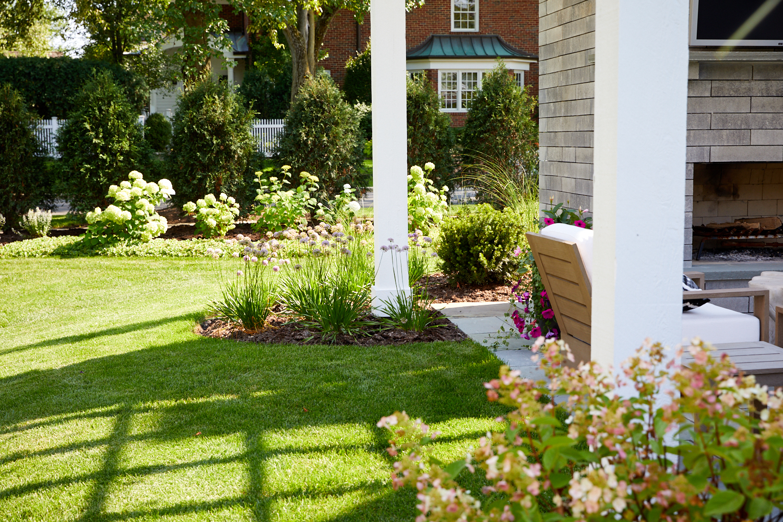 Pergola, patio and landscape Hinsdale