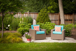 Patio and landscape Hinsdale