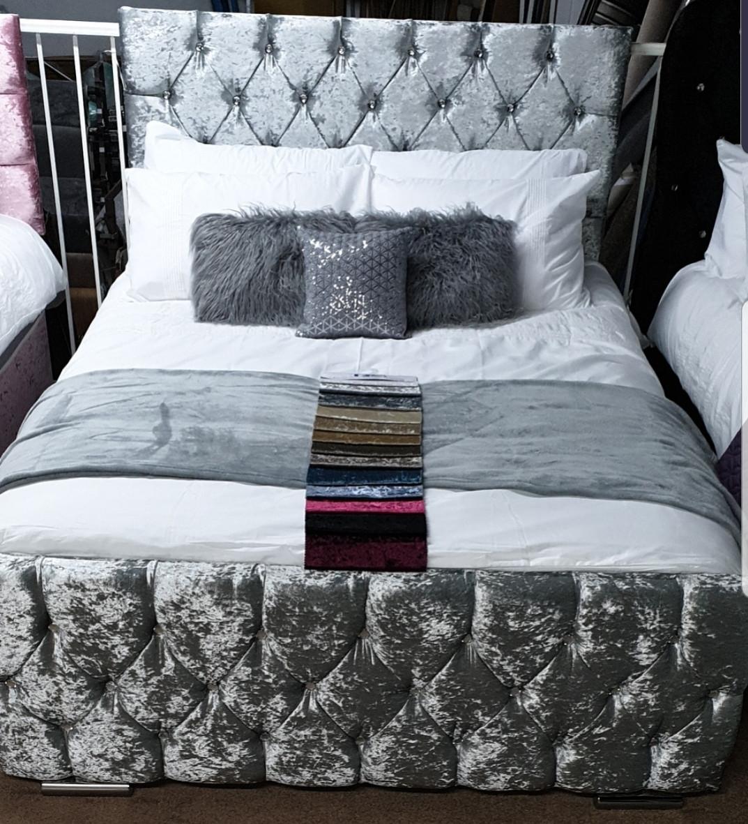 ♥️ FLORENCE DIAMOND BED ♥️