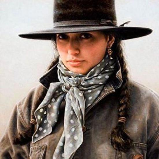 NPAC Hybrid Painting - Western Girl