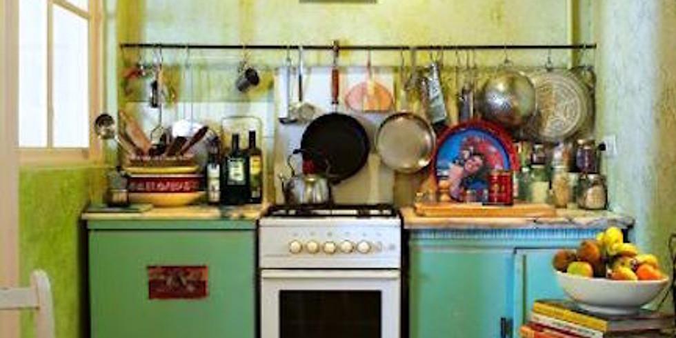 NPAC Zoom Painting - Kitchen Interior