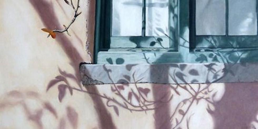 NPAC Zoom Painting - Pink Shadows Day 1