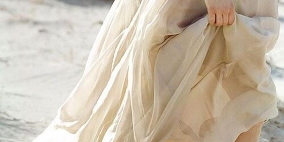 NPAC Hybrid Sketch of the Week - Flowing Dress