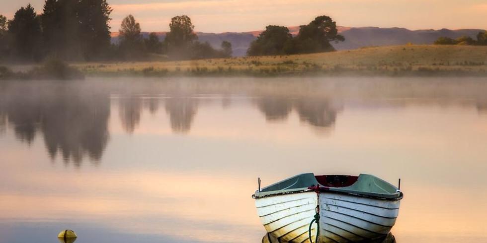 NPAC Zoom Pastel - Boat Reflection