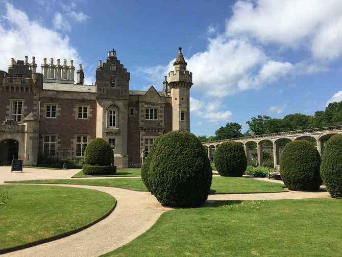 Away Day at Abbotsford House