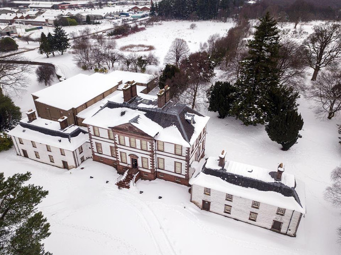 The Beast from the East at Strathleven House