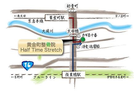 黄金町駅 阪東橋駅