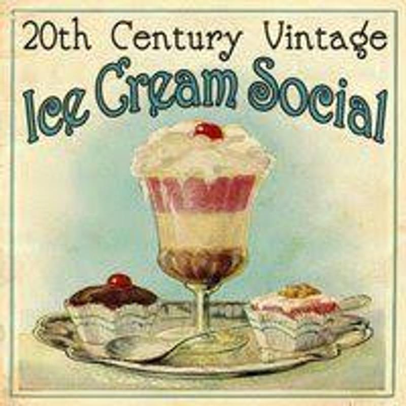 VICTORIAN ICE CREAM SOCIAL