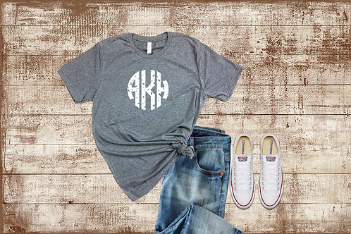 Distressed Monogram