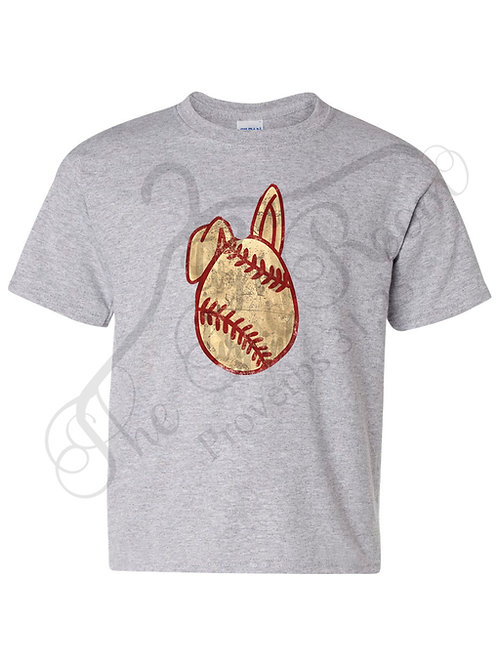 Baseball Egg Tee