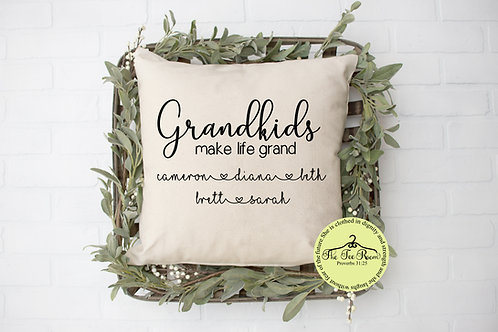 Grandkids Pillow