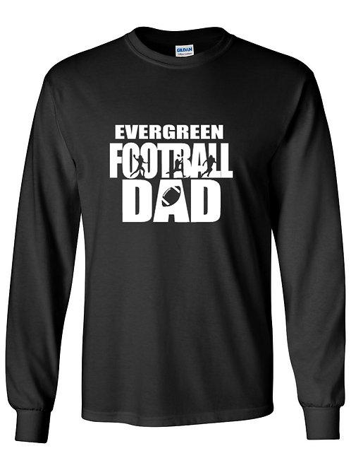 Eagle Football Dad  Long Sleeve