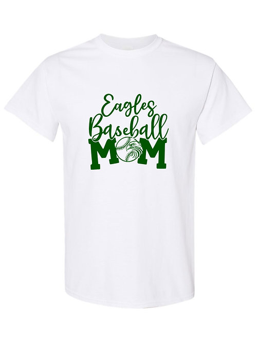 Eagles Baseball Mom Tee