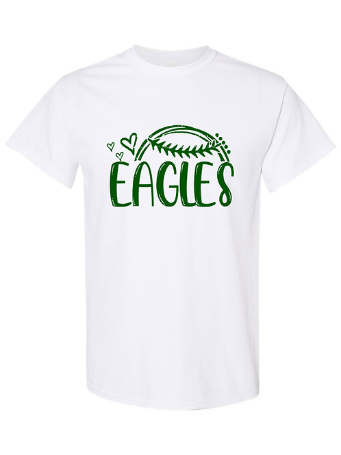 Eagles Baseball Love Tee