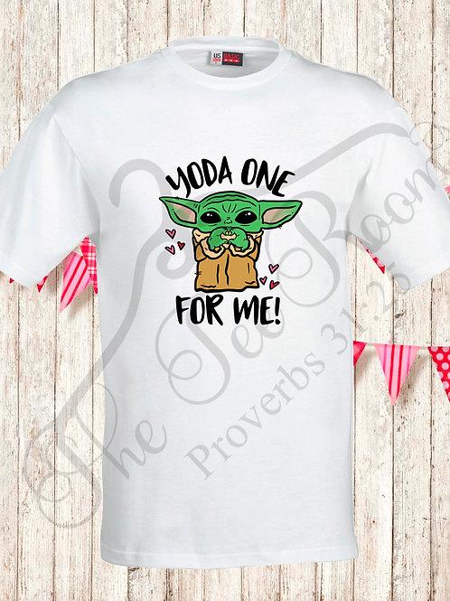 Baby Yoda Valentine's Tee