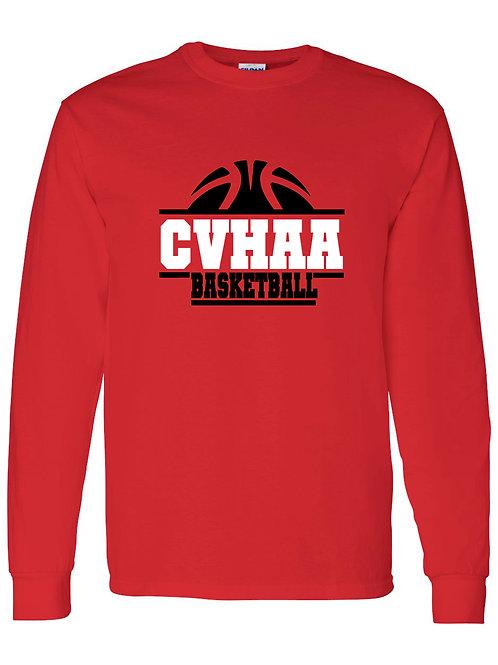CVHAA Basketball Long Sleeve Tee