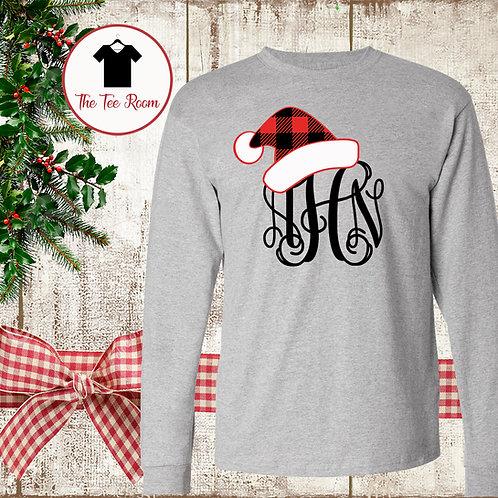 Monogrammed Santa Hat