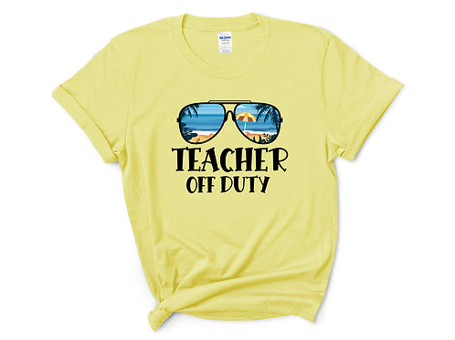 Teacher Off Duty Sunglasses