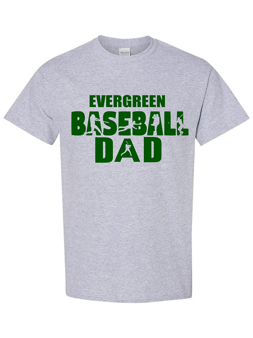 Eagles Evergreen Baseball Dad