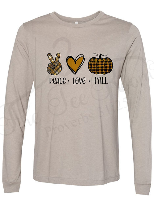 Peace Love Fall