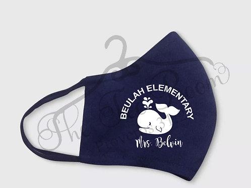 Beulah Elementary Face Mask