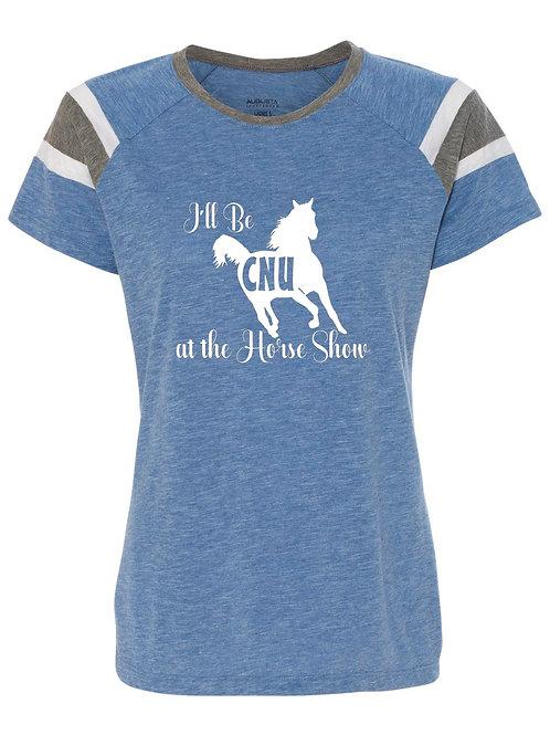 I'll be CNU at the Horse Show