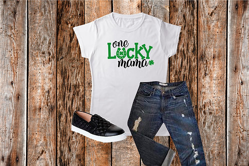 St. Patrick's Day/ One Lucky Mama