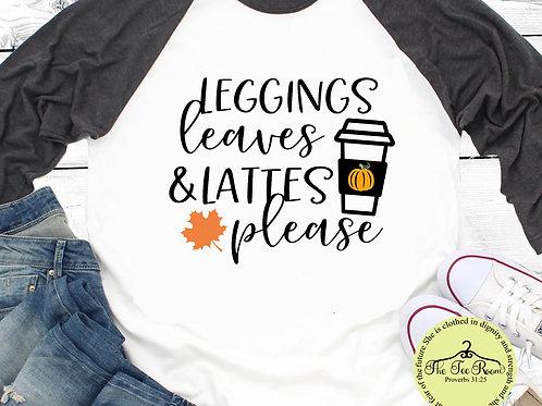 Leggings, Leaves, and Lattes