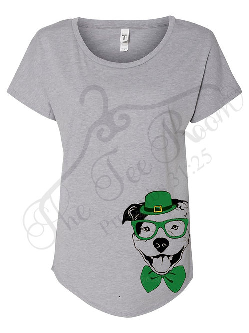 St. Patrick's Day Dog Tee