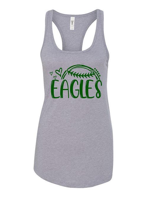 Eagles Baseball Love Tank