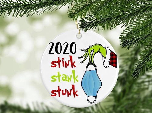Stink Stank Stunk 2020 Ornament