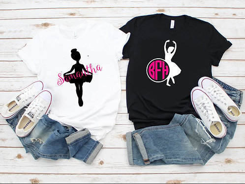 Personalized Dance Tee