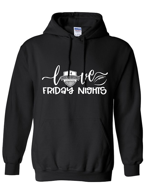 Love Friday Nights-Under the Lights Hoodie