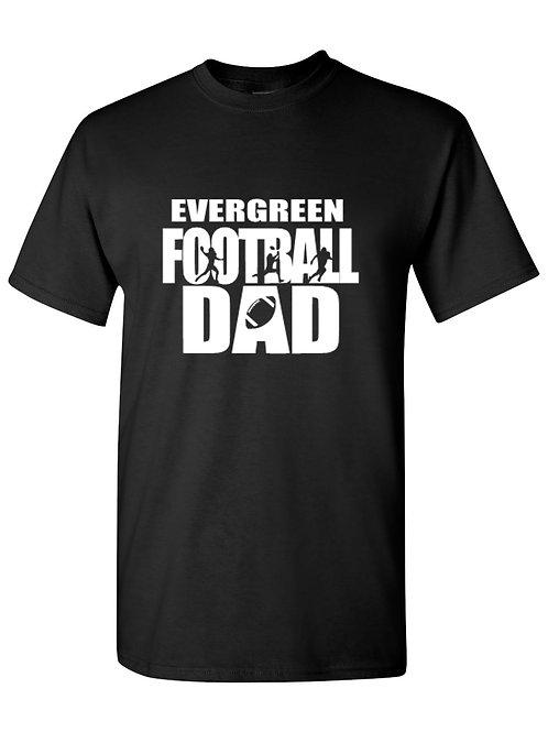 Eagles Evergreen Football Dad Tee