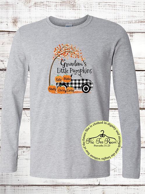 Personalized Little Pumpkins