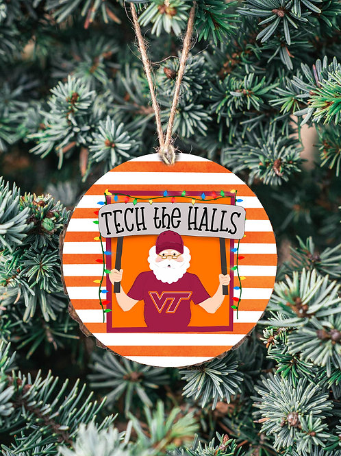 Tech The Halls Ornament