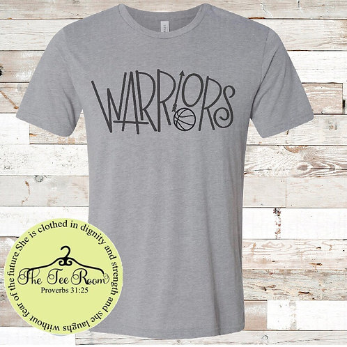 Warriors sport/activity tee (Available for all sports/activities)