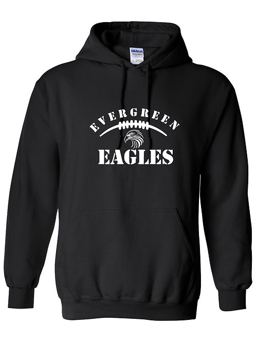 Eagles- Evergreen Eagles Football Hoodie