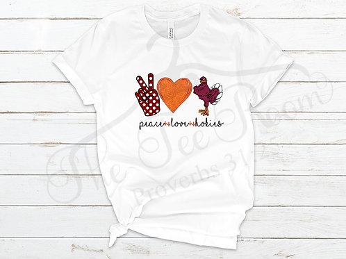 Peace Love Hokies